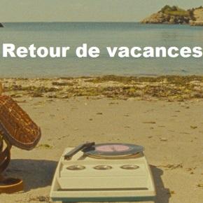 Message : Retour de vacances – Août2013