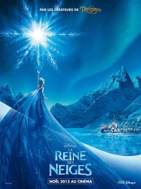 La Reine des Neiges - Poster