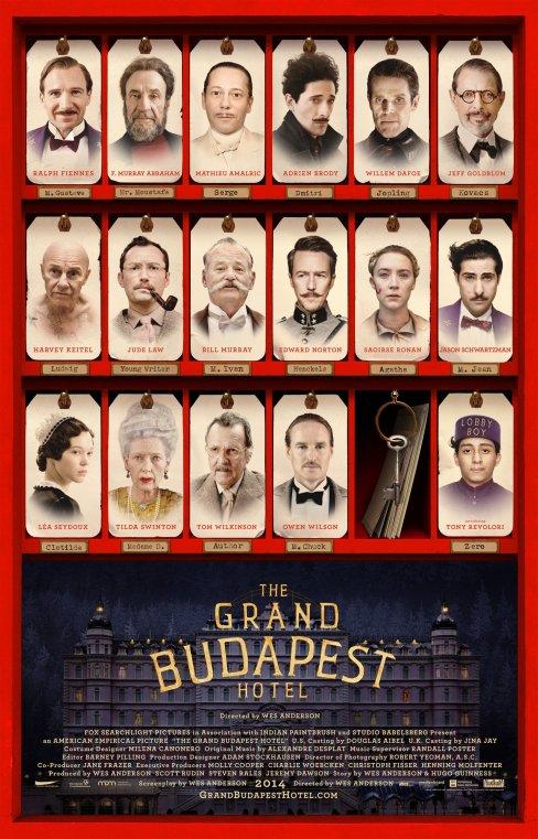 Budapest Hotel - Affiche