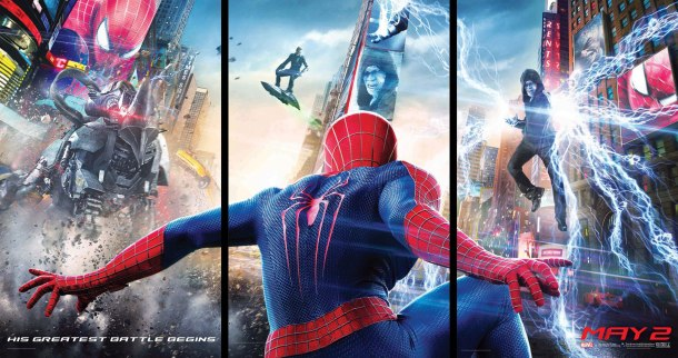 Amazing Spider-Man 2 - Tryptique