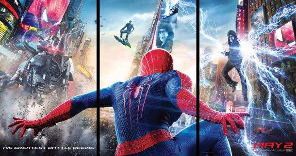 Amazing Spider-Man 2 - Tryptique