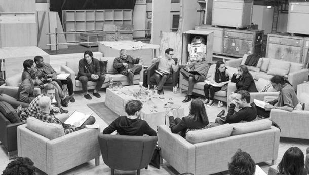 Star Wars VII - Tournage