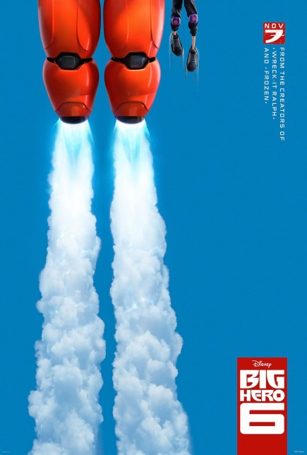 Big Hero 6 - affiche
