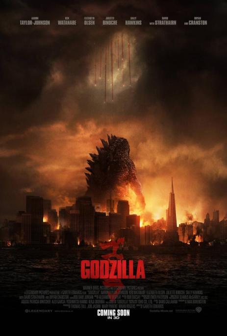 Godzilla - Affiche (2)
