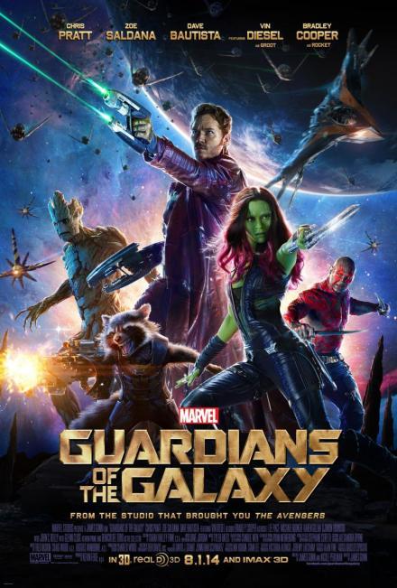Les Gardiens de la Galaxie - Affiche (2)