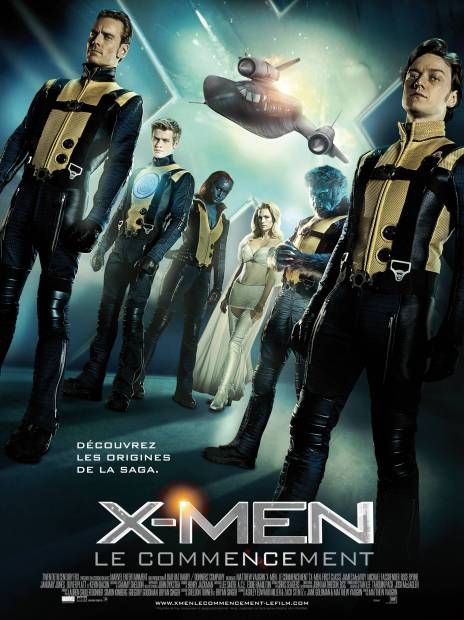 X-Men First Class - Affiche