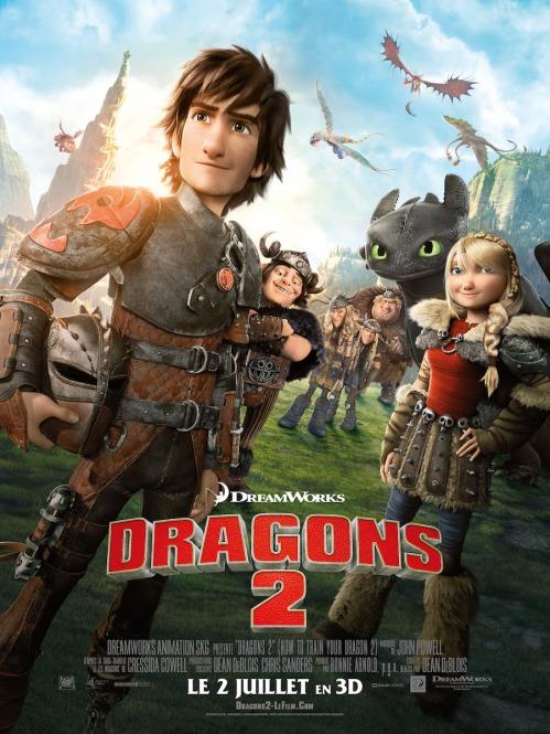 Dragons 2 - Affiche (9)