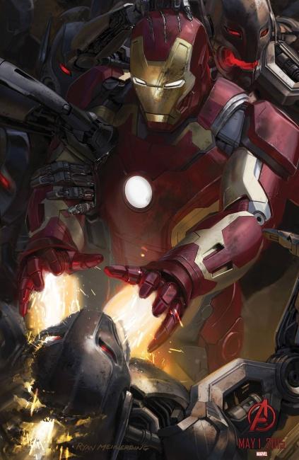 Avengers 2 - Affiche (1)
