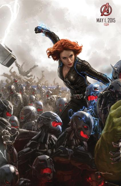 Avengers 2 - Affiche (3)