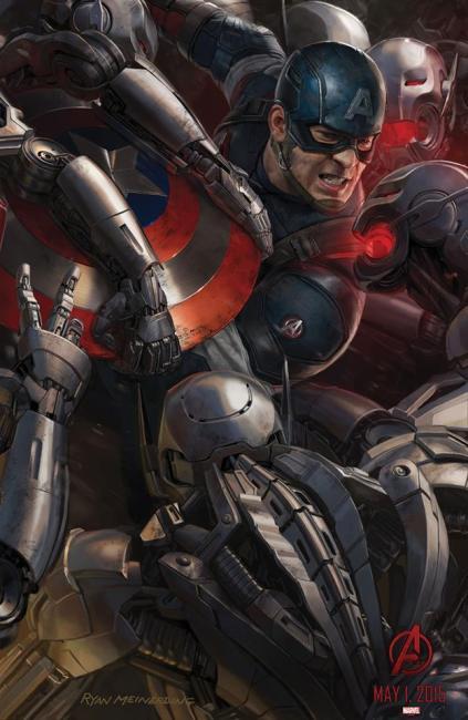 Avengers 2 - Affiche (4)