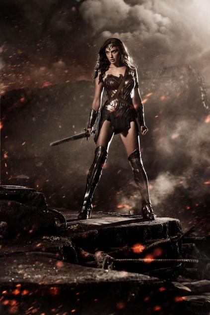 Batman VS Superman - Image Wonder-Woman