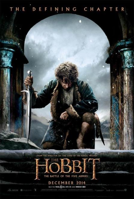 Hobbit 3 - Affiche (2)