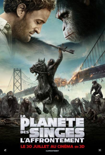 La planète des singes 2 - Affiche (3)