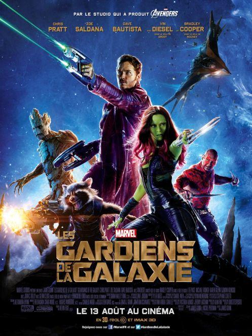 Les Gardiens de la Galaxie - Affiche (3)