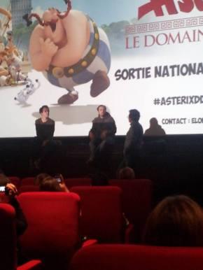 Rencontre : Alexandre Astier et Louis Clichy pour «Astérix – Le Domaine desDieux»