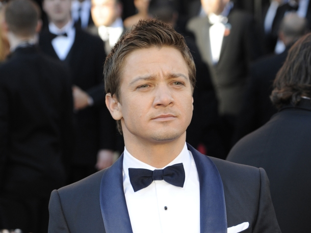 Jeremy Renner arrives at the 83rd annual Academy Awards in Hollywood