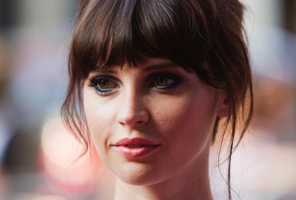 """Jones arrives on the red carpet for the film """"Like Crazy"""" during Toronto International Film Festival"""
