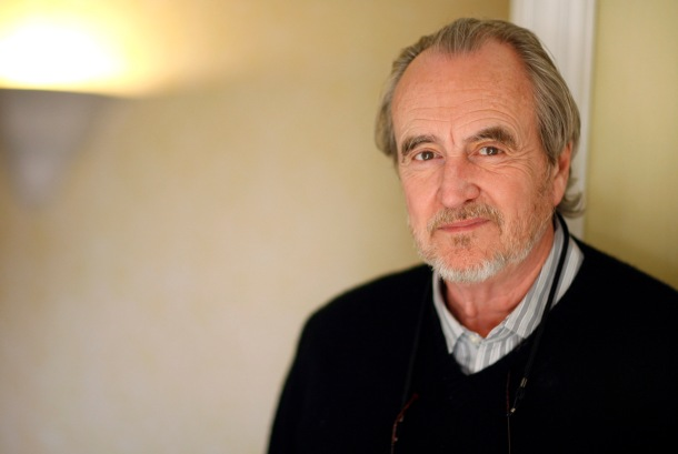 Wes Craven poses for a portrait in Los Angeles