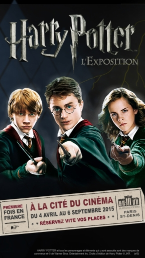 Exposition : «Harry Potter, l'exposition»