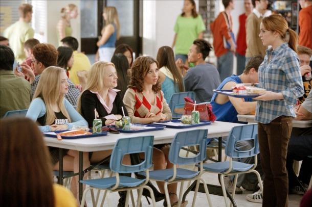 Scène de déjeuner dans Mean Girls (2004)